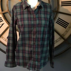 EUC L.L. Bean Flannel Shirt